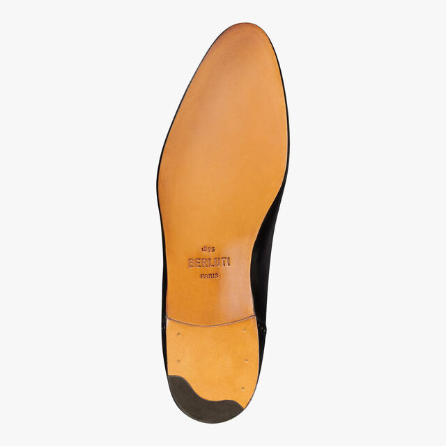 Ponctuation Galet Leather Oxford, NERO GRIGIO, hi-res