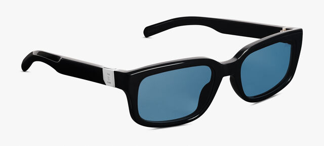 Meteor Acetate Sunglasses , BLACK+VINTAGE BLUE, hi-res