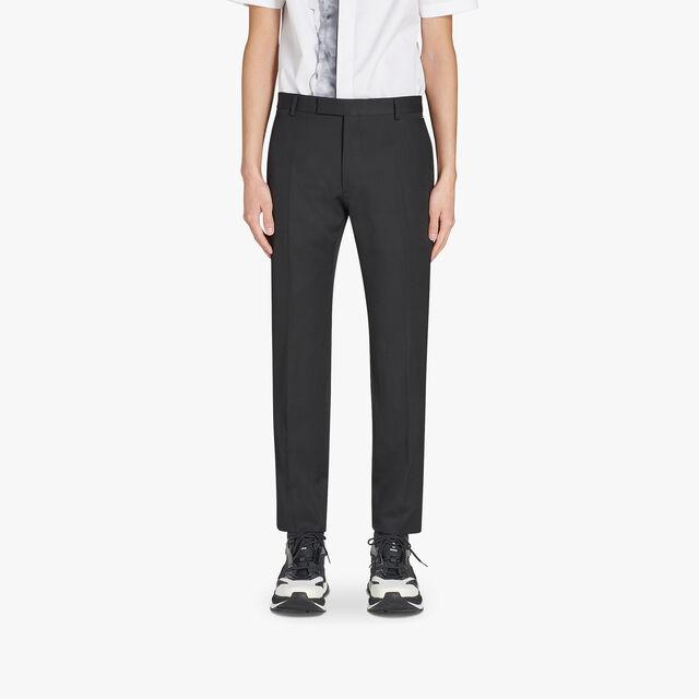 Alessandro Regular Formal Wool Pants, NOIR, hi-res
