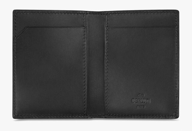 Découverte Canvas And Leather Card Holder, BLACK+TDM INTENSO, hi-res