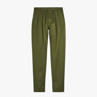 Wool Sweatpants, OLIVE, hi-res