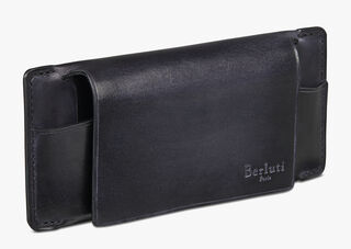 Calf Leather Sunglasses Case, NERO ANTRACITE, hi-res