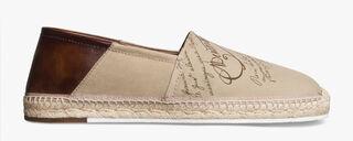 米色Iban Biarritz帆布便鞋, BEIGE, hi-res