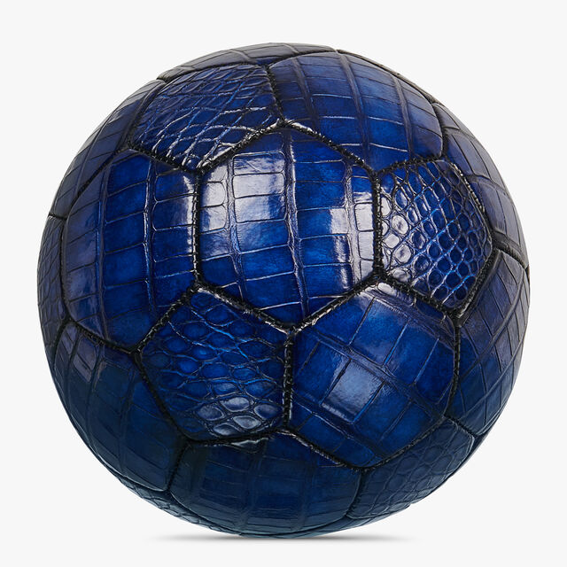 Ballon De Football En Cuir D'Alligator, NATURALE, hi-res