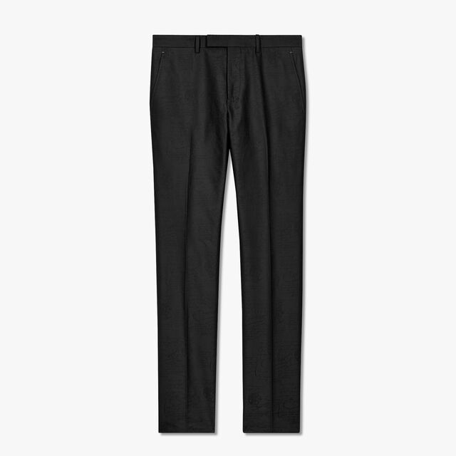 Scritto Chino Trousers, NOIR, hi-res