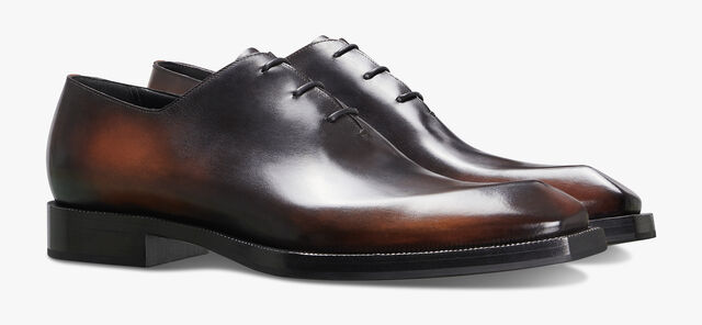 Alessandro Edge Leather Oxford, CLOUDY BROWN, hi-res