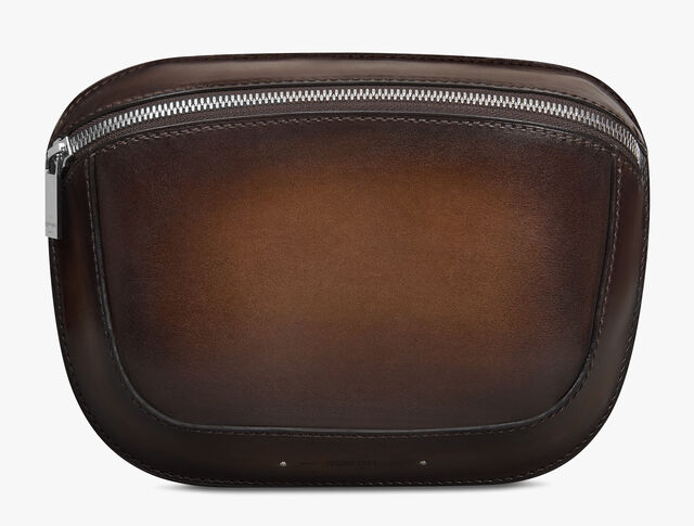 Isle Leather Messenger Bag, EARTH BROWN, hi-res