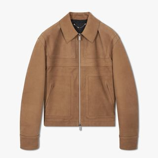 Nubuck Leather Blouson