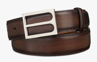 B Leather Belt - 35mm, TDM CHIARO, hi-res