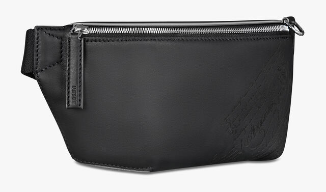 Complice Small Leather Messenger Bag, NERO, hi-res