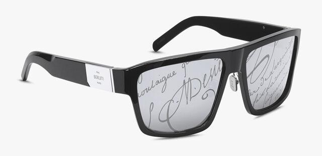 Thunder Scritto Acetate Sunglasses, BLACK+BRONZE, hi-res