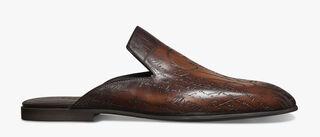 Cyrus Oman Calf Leather Summer Shoe, TABACCO, hi-res