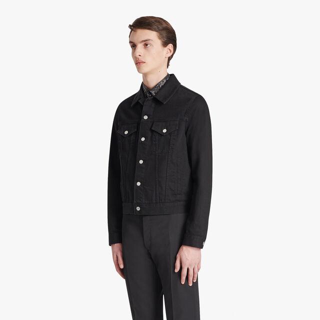 Black Denim Jacket, NOIR, hi-res