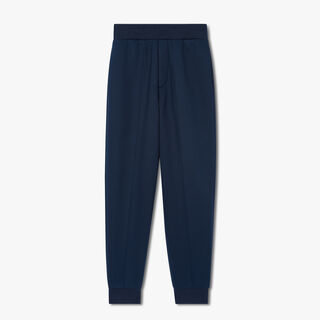 Jogging Trousers With Embroidered Crest