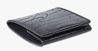 Origine Leather Coin Purse, DEEP BLACK, hi-res