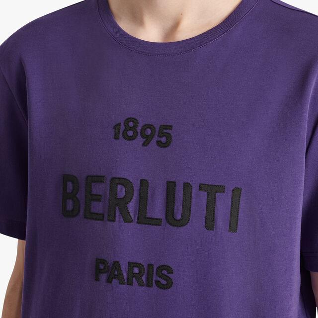 Cotton Logo T-shirt, ULTRAVIOLET, hi-res