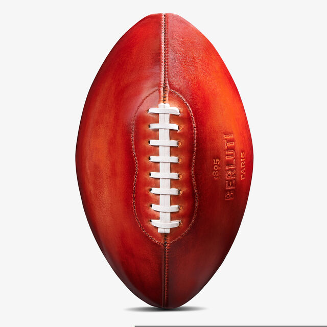 Football Leather Ball - Online & Miami Store Exclusive, ROSSO FLASH, hi-res