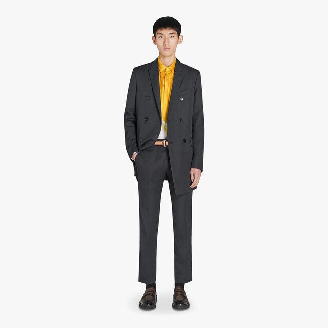 Alessandro Regular Formal羊毛裤, MYSTERIOUS GREY, hi-res