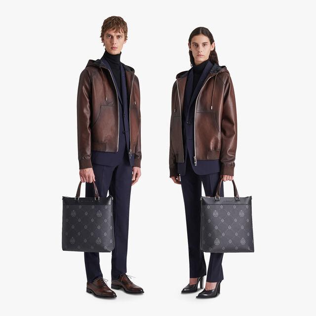 Patina Leather B-way, EBANO, hi-res