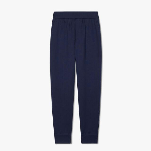双面针织慢跑裤, SPACE BLUE, hi-res