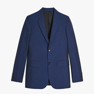 Classic Wool And Angora Suit, BLUE MARINE, hi-res