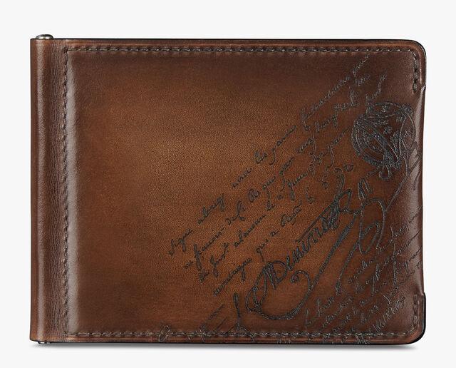 Figure Scritto 皮革钱包, MOGANO, hi-res