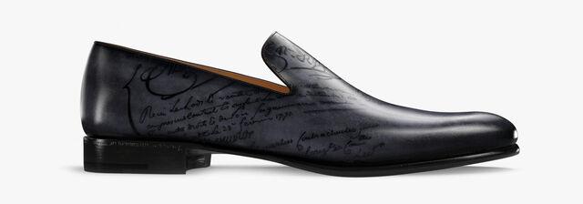 Cursive Galet Scritto Leather Loafer, TOBACCO BIS, hi-res