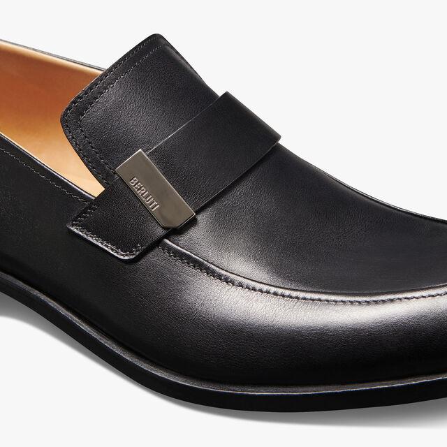 Reflet Calf Leather Loafer, BLACK, hi-res