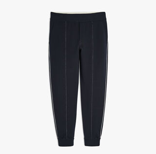 Silk-Blend Sweatpants, BLUE MOON, hi-res