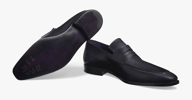 Andy Demesure Leather Loafer, NERO, hi-res