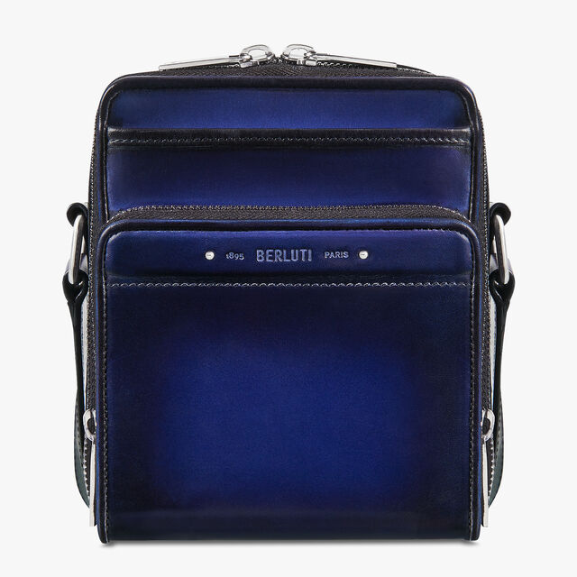 Miles Leather Messenger, UTOPIA BLUE, hi-res