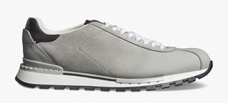Fast Track Torino Calf Suede Sneaker, LIGHT GREY, hi-res