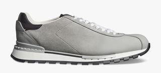 Fast Track Torino Calfskin Suede Sneaker, LIGHT GREY, hi-res