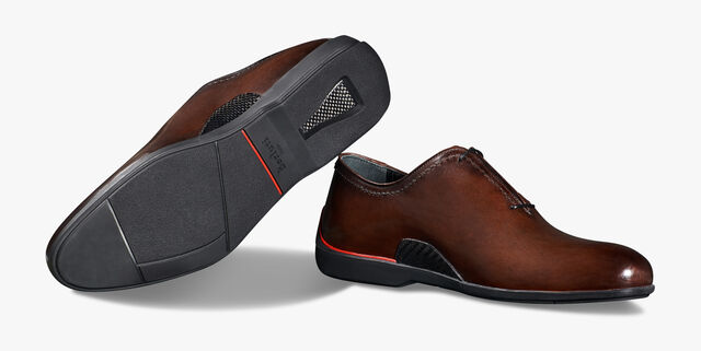Ferrari Calf Leather Oxford - In-Store Exclusive, BRUN, hi-res