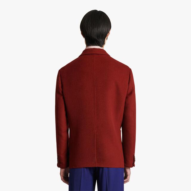 Double Face Jacket, RED OCHER / CRIMSON, hi-res