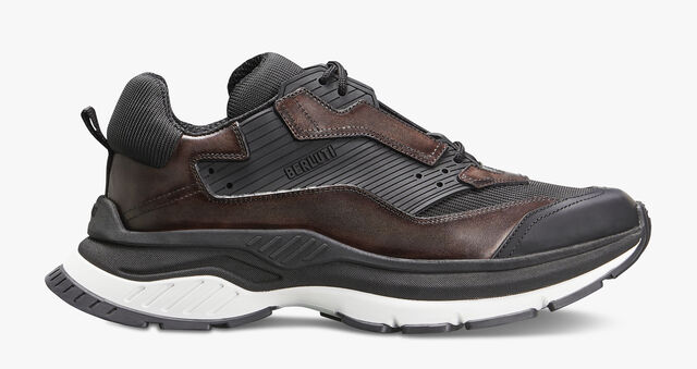 Gravity Calf Leather Sneaker, ICE BROWN, hi-res