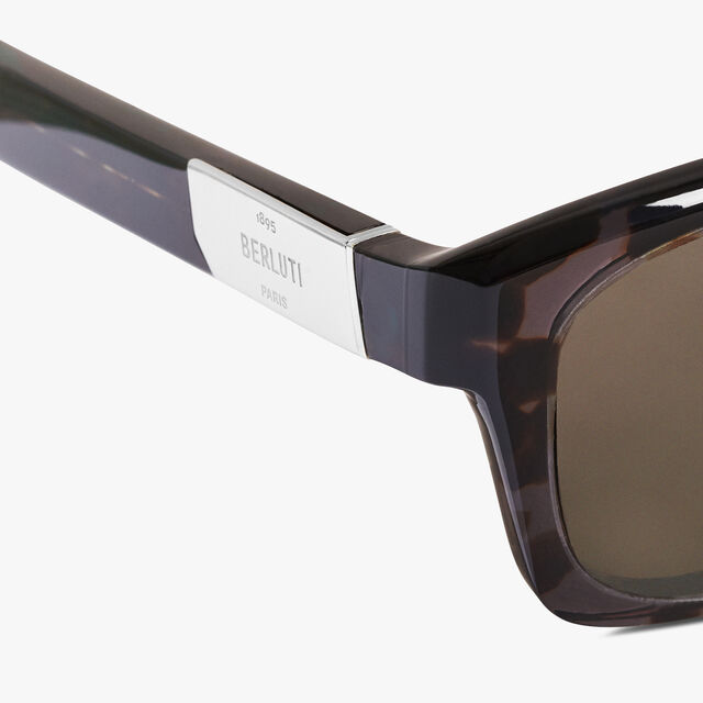 Neon Rectangular Shape Acetate Sunglasses, GREY HAVANA, hi-res