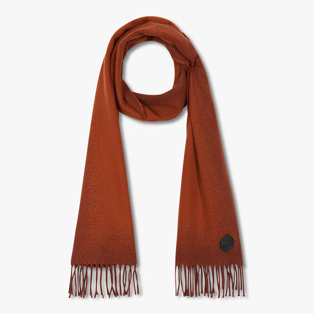 Cashmere Patina Scarf, SHADED ORANGE, hi-res