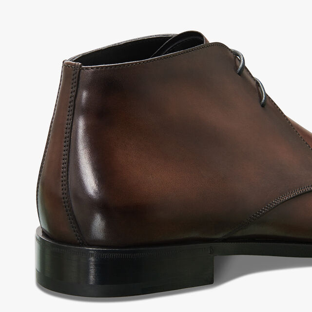 Classic Demesure Calf Leather Boot, BUFFALO, hi-res
