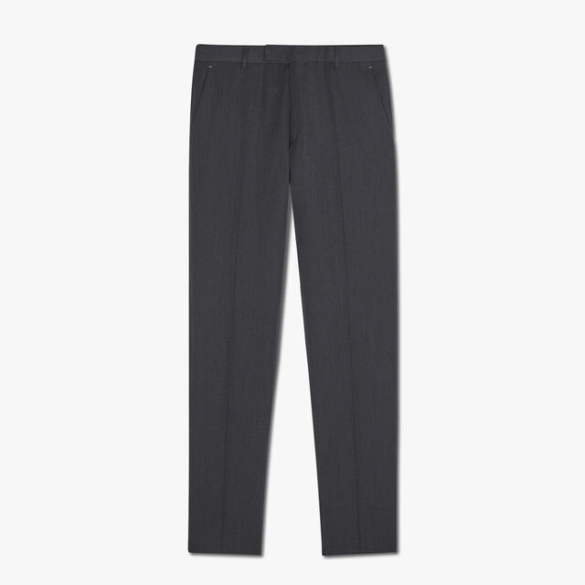 Alessandro Regular Formal Wool Pants, MYSTERIOUS GREY, hi-res