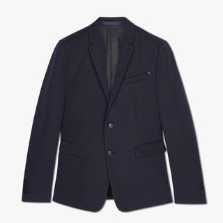 Slim Fit Japanese Wool Suit Jacket