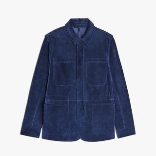 皮野战夹克, BLUE MARINE, hi-res
