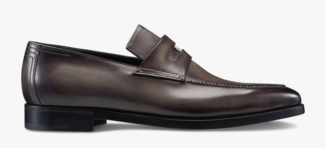Mocassin Andy 125e anniversaire Berluti, ICE BROWN, hi-res