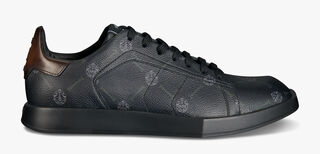 Stellar Canvas Signature and Leather Low-Cut Sneaker
