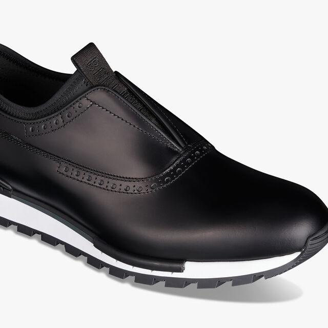 Fast Track 镜面皮革懒人鞋, NERO, hi-res