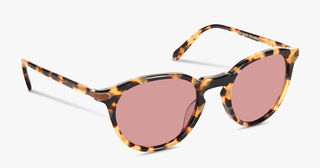 Rue Marbeuf Sunglasses Calf Leather, MIMOSA, hi-res