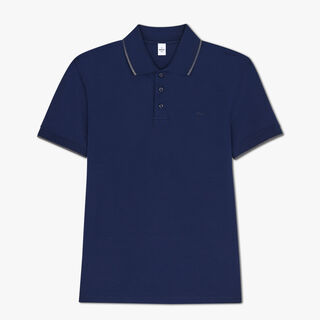 Polo En Coton Avec Logo Brodé - Coupe Regular