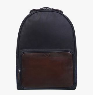 Time-Off Leather Backpack, MOGANO, hi-res