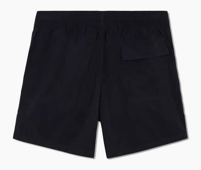 带有荧光装饰的中长泳裤, CAOS NIGHT, hi-res