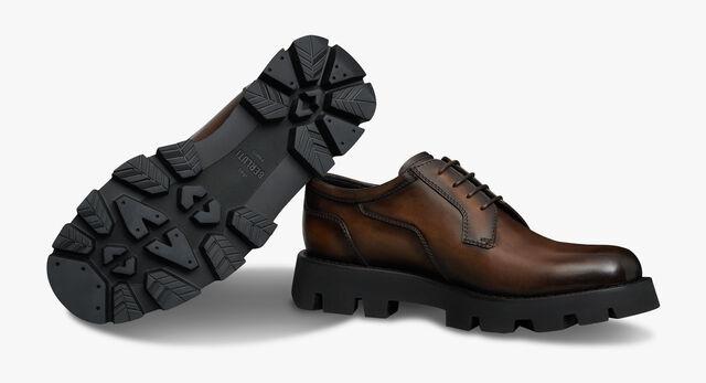 Twist Leather Derby